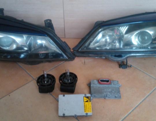 Opel Astra G  Xenon fényszóró párban és alkatrészei