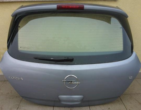 Opel Corsa D 3 ajtóshoz csomagtérajtó kompletten
