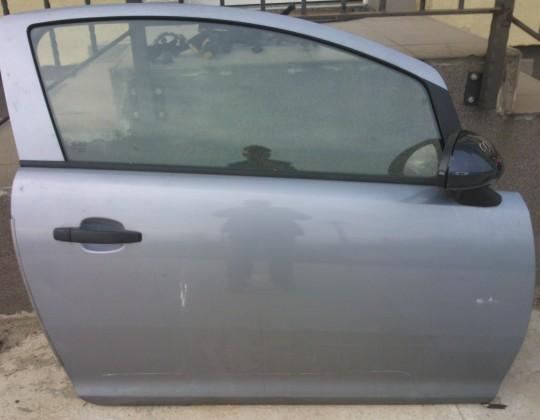Opel Corsa D 3 ajtós jobb ajtó és alkatrészei