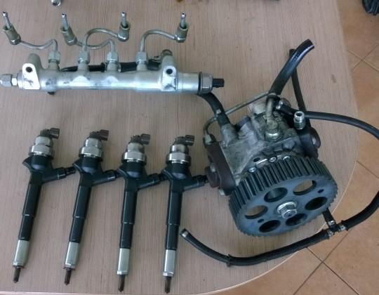 Opel Zafira B 1.7CDTI befecskendező rendszer elemei